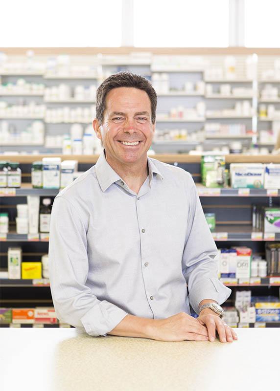 Mark Gayowski photographed for Pharmacy Business magazine