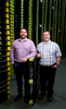 (Left to right) Niall Carson and Vince Ferlisi at RM2 Canada's headquarters in Woodbridge, ON.
