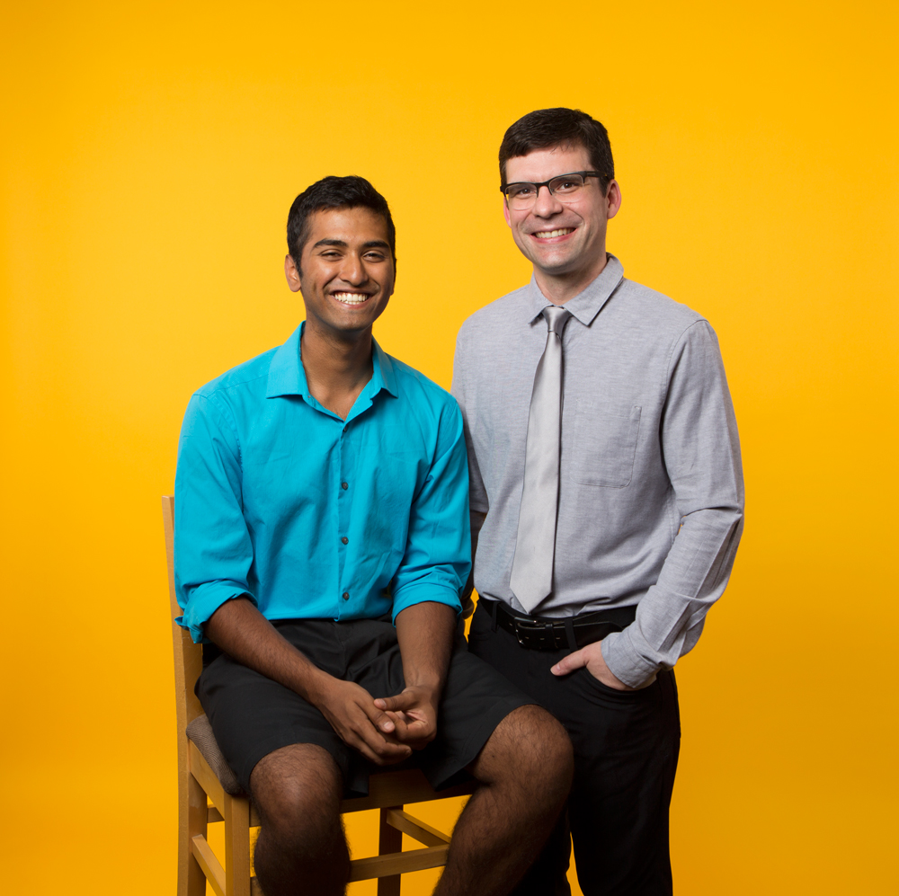 Rohit Mathews and Dr. Paul Kuzyk for Sinai Health.