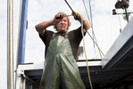 Smelt fishing on Lake Erie for Report on Business Magazine.
