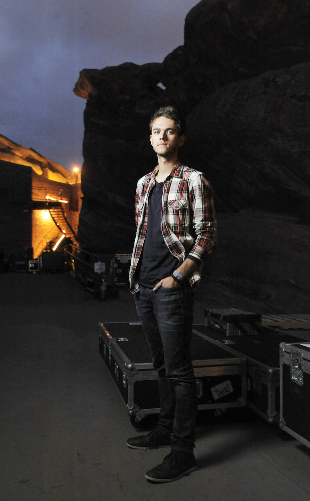 DJ Zedd at Red Rocks