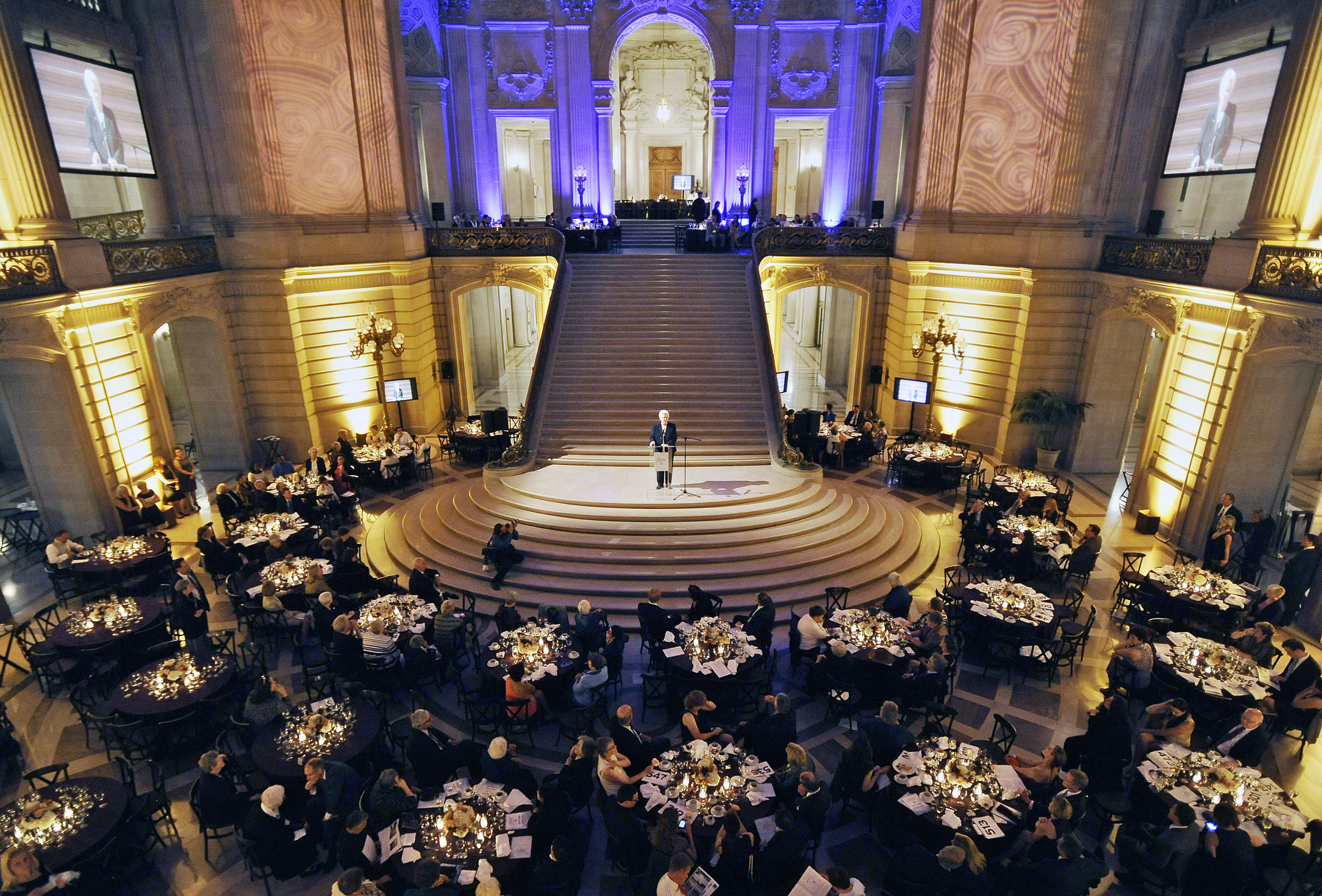 Mercy Housing Gala at the San Francisco City Hall in San Francisco, California.