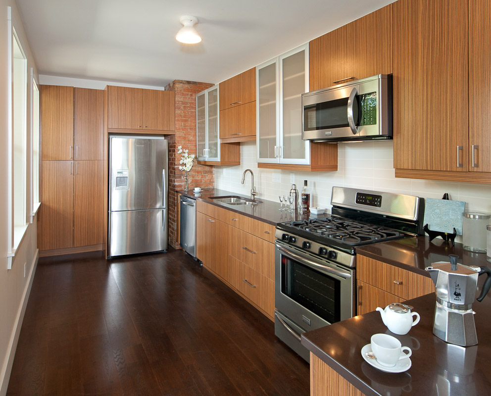 City Home Kitchen Inner City Kitchen  City Home  Architectural Photography Of