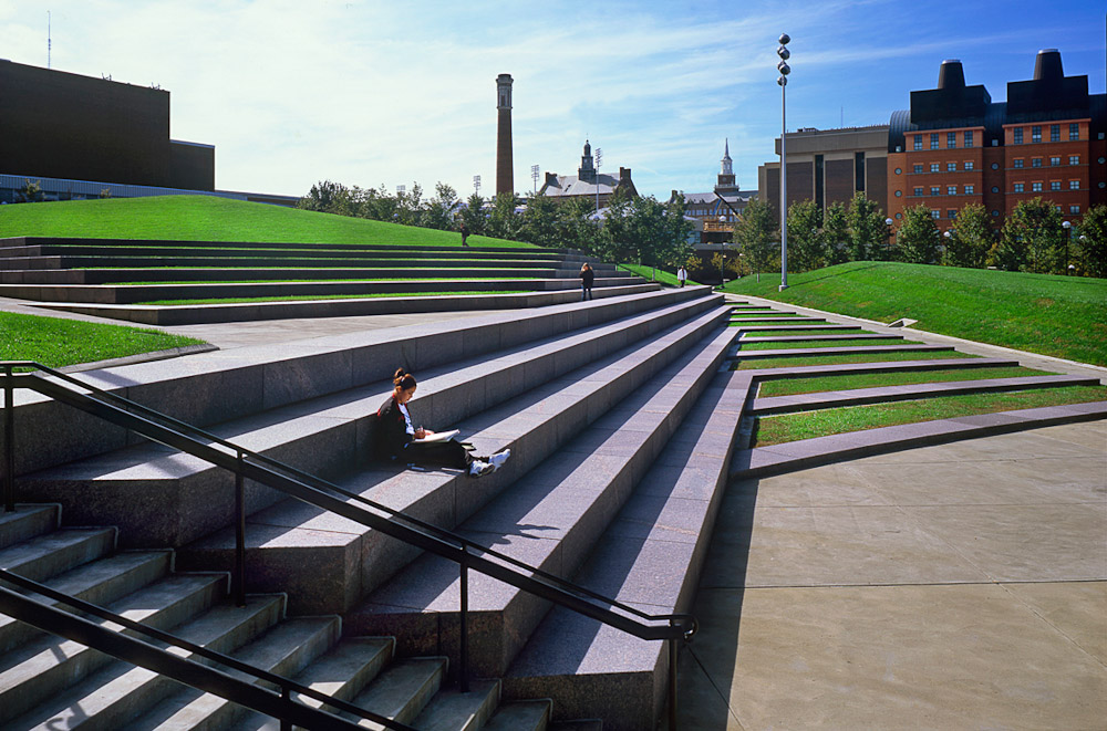 Hargreaves Associates   Landscape Architects. Sigma Sigma Commons,  University Of Cincinnati