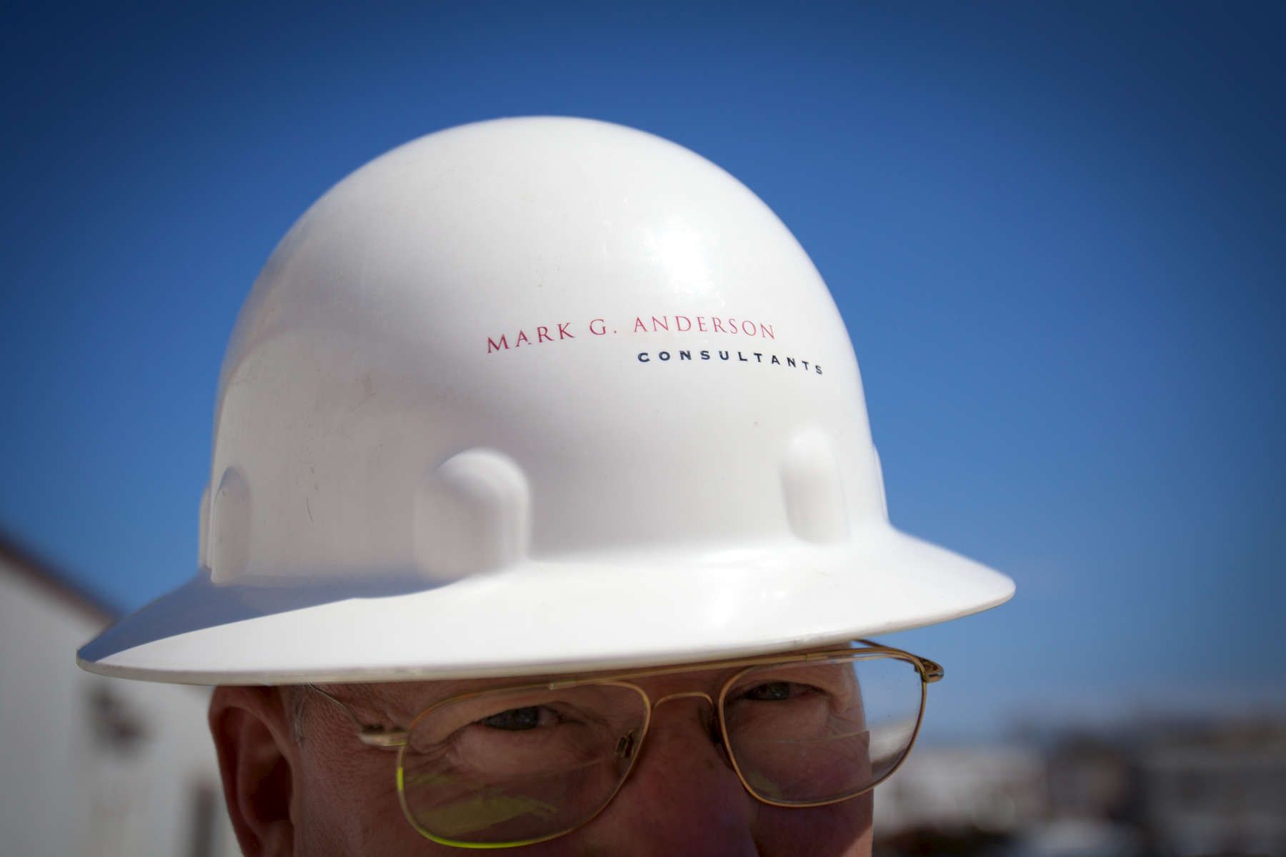 Worker for MGAC in Washington, D.C. working on the new DARPA building in Alexandria, Virginia. MGAC specializes in high-end construction and project management.