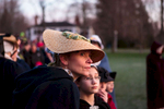 Lexington, MA., April 15, 2013: The town of Lexington celebrates the 238th anniversary of the Battle of Lexington on the village green that marked the start of the American Revolution. Thousands attend the event each year that starts before dawn at 5:45 AM.  Photograph by Evan McGlinn for The New York Times