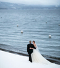 WInter wedding at West Shore Cafe in Homewood.To see more from this wedding click HERE