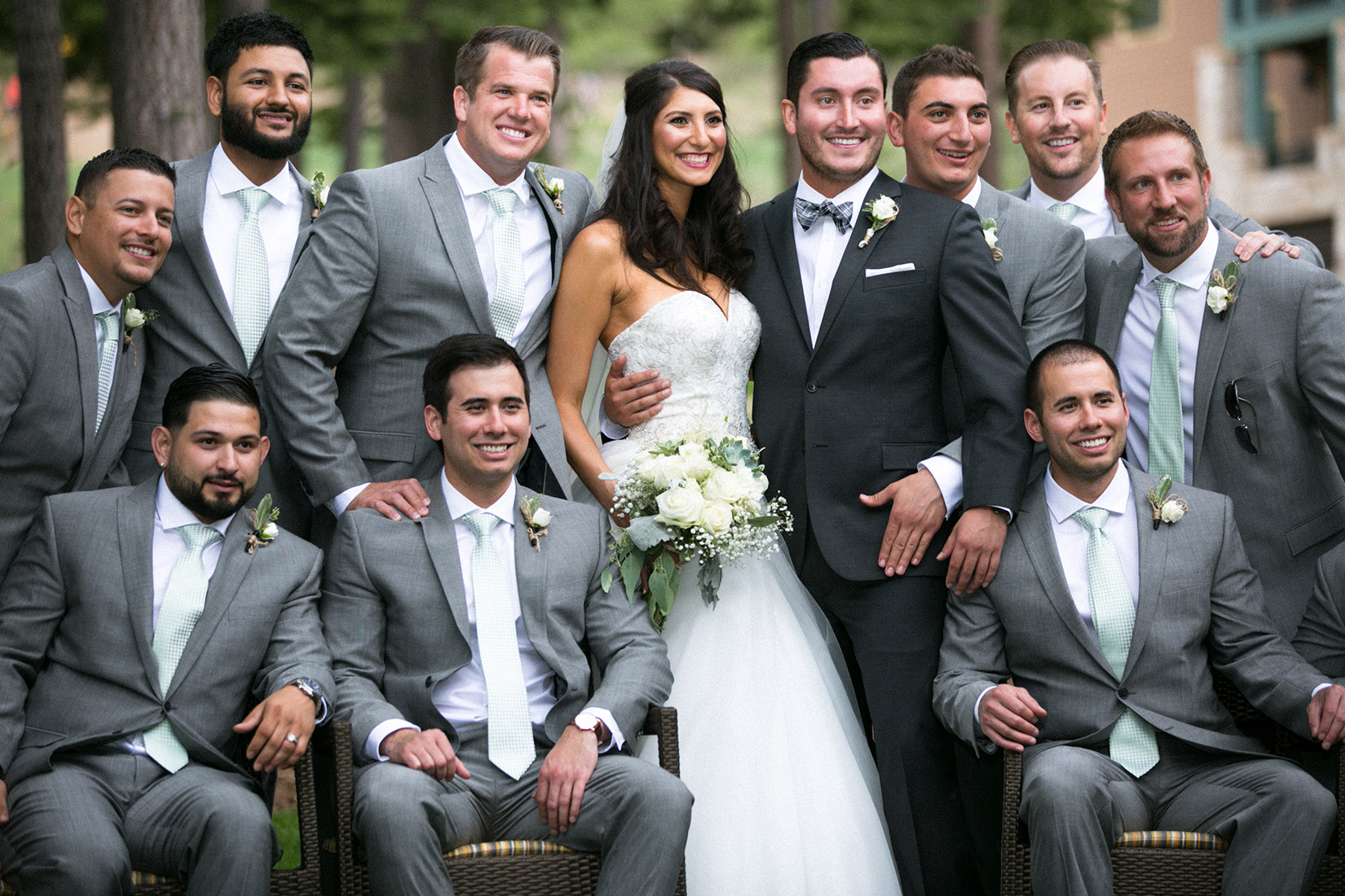 Tahoe-Ritz-groom-with-bride-and-groomsmen