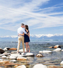 Tahoe-engagement-rocks-and-blue-water