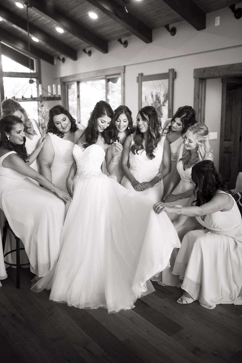 bride-and-bridesmaids-at-The-Ritz-Tahoe-