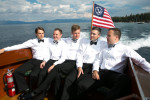 groom-on-boat-Tahoe