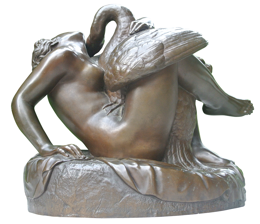 Attributed to Jean-Jacques FEUCHÈRE (1807-1852)Bronze23.5 x 25 cm