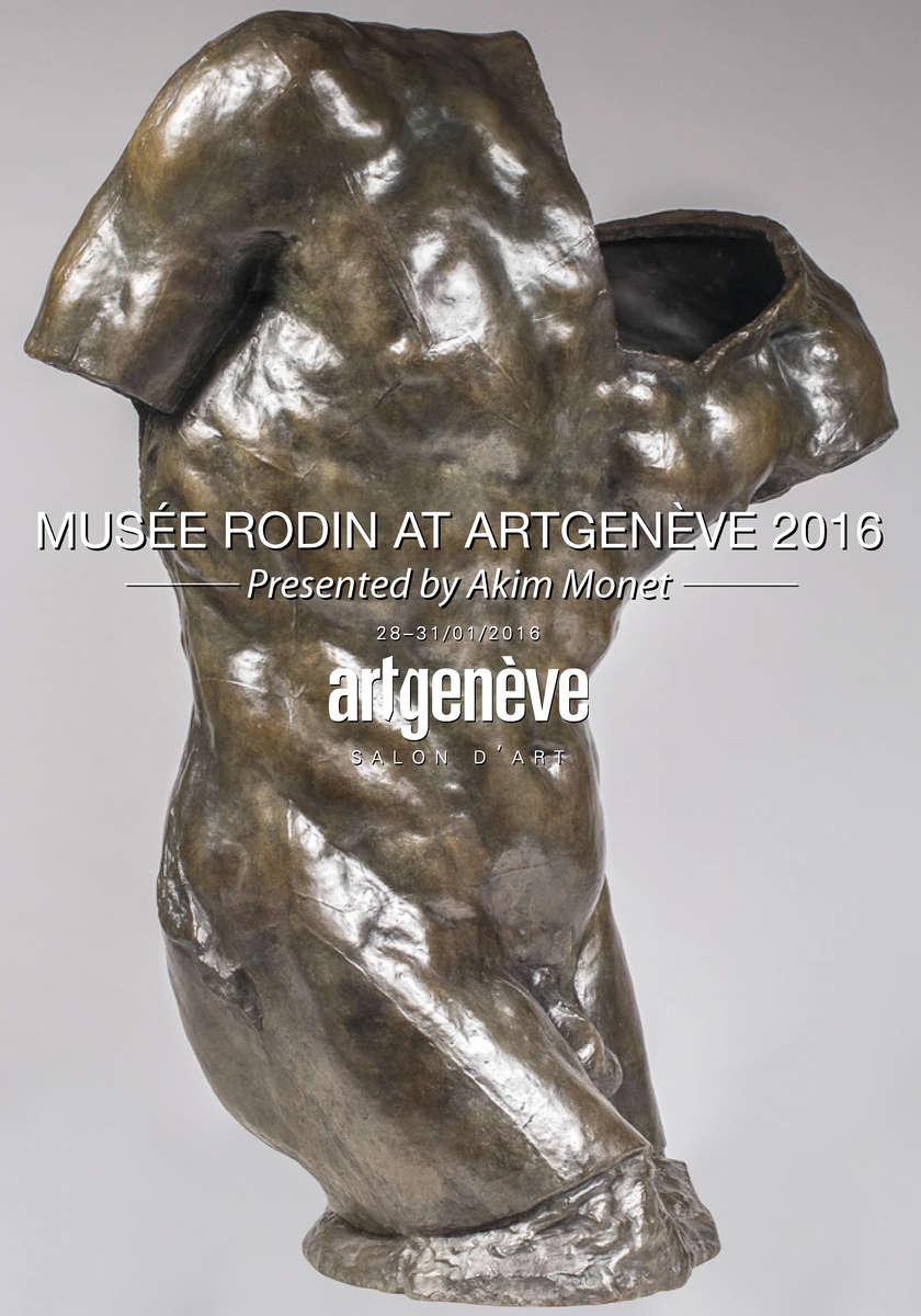 "Akim Monet is proud to present on behalf of the Musée Rodin several iconic bronze sculptures in correspondence with carefully selected works by Louise Bourgeois, George Grosz, Henri Matisse and a figure from classical antiquity. Referring to the pivotal ""Pavillon de l'Alma"", Auguste Rodin's self-organized exhibition during the 1900 Paris Exposition Universelle, the Musée Rodin and Akim Monet are fulfilling the will of the sculptor to make his work known. The important pieces presented at Artgenève are available for purchase.PLEASE CLICK HERE FOR MORE INFORMATION"