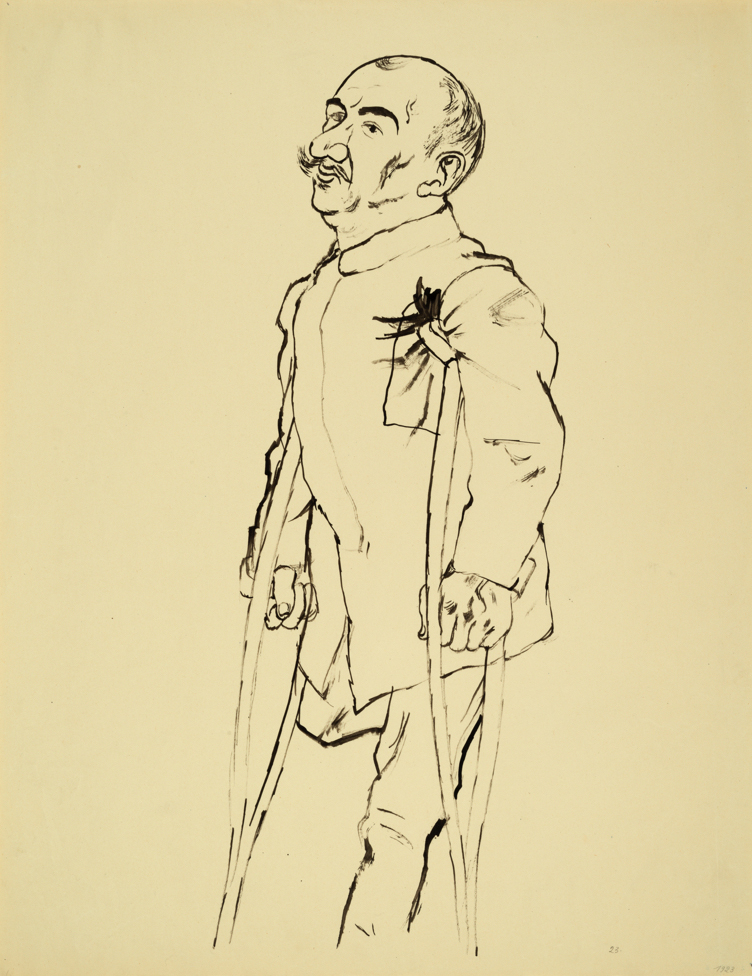 "George GROSZ (1893-1959)Brush, reed pen and pen and ink on paper59,4 x 46,1 cmStamped on the reverse ""GEORGE GROSZ NACHLASS"" and numbered 2-129-6"