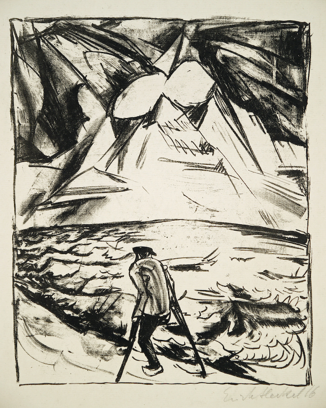 Erich Heckel (1883-1970)lithograph