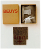 Joseph BEUYS (1921-1986)Catalogue-box, 20 x 16 x 3 cmFelt piece, 19, 5 x 15, 5 x 1 cmStamped with oil paint (brown cross)Edition Size: 294/330, numbered, unsignedPublisher: Städtisches Museum Mönchengladbach (CR: 5)