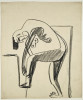 Ernst Ludwig KIRCHNER (1880 – 1938)Charcoal on paper45 x 37,8 cm (17 3/4 x 14 7/8 in.)Stamped on the verso with the estate stampand numbered 'K Da/Bg 1 90'.ProvenanceEstate of the artist