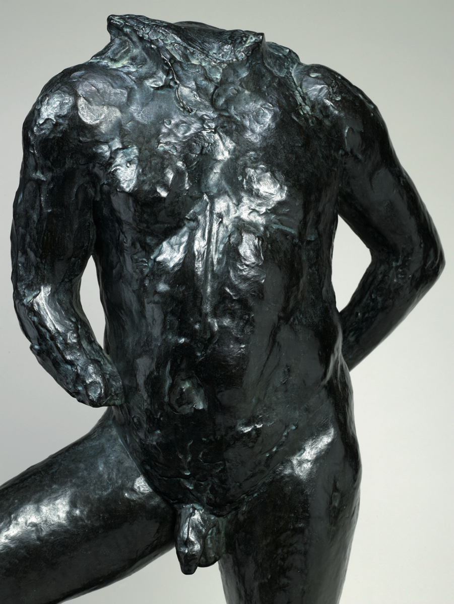 Auguste RODIN (1840-1917)Bronze with a dark brown patina82,5 x 54,5 x 34 cmSigned and numbered 'A. Rodin No 6/8' (on the top of the base)Inscribed with foundry mark 'E. GODARD Fondr' (on the left side of the base)Inscribed and dated '© BY MUSÉE Rodin 1987' (on the back of the base)