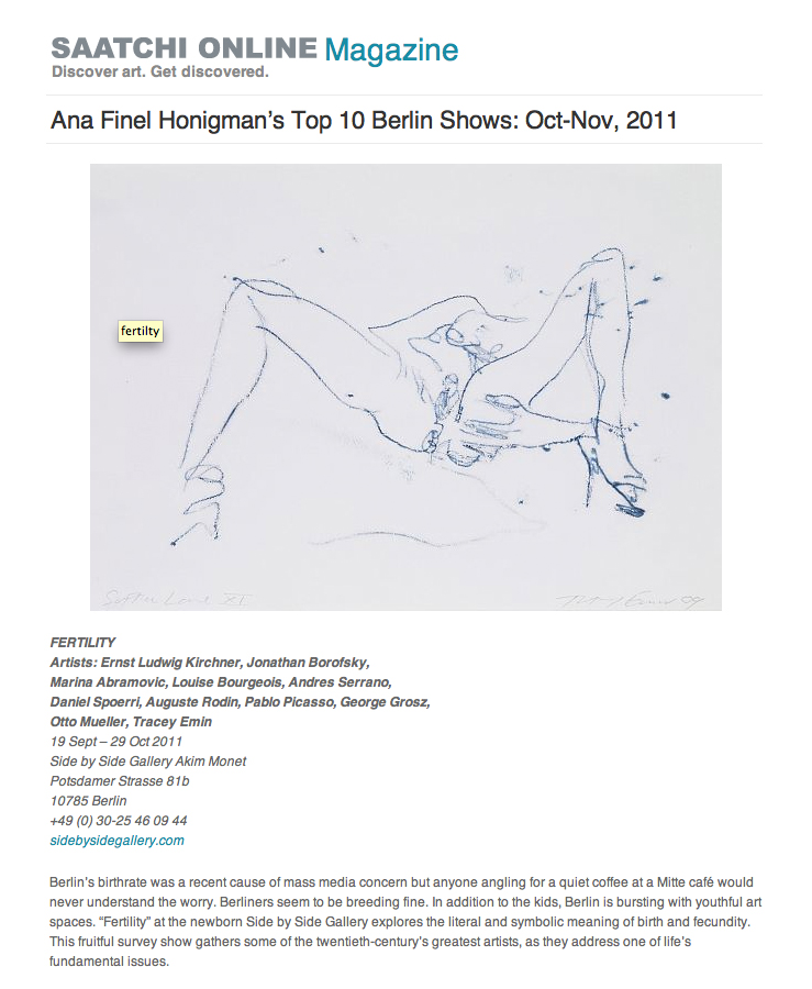 Ana Finel Honigman's Top 10 Berlin Shows