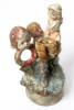 Satch Hoyt (b.1957)Three WomenMixed-media, ceramic and porcelain13 x 7 x 8 cm