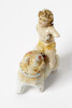 Satch Hoyt (b.1957)Cherub and DogMixed-media, ceramic and porcelain8 x 4 x 7 cm