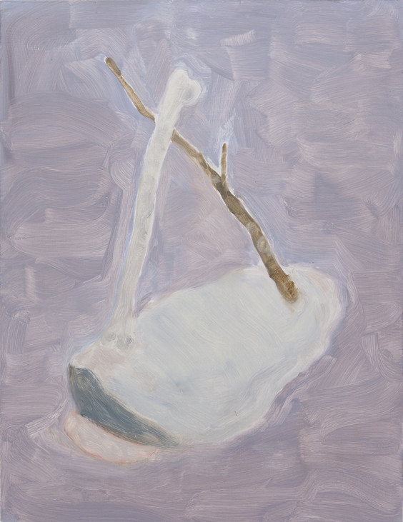 Katharina OTTO  (b. 1979)Oil on wood53 x 41 cm