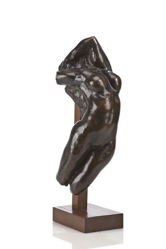 Auguste RODIN (1840-1917)Bronze with brown patina16.2 x 48 x 20 cmSigned 'A. Rodin'; inscribed with foundry mark 'A. Rudier / Fondeur Paris.'