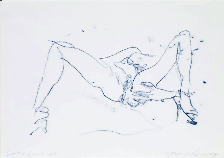 Tracey EMIN (b. 1963)Monoprint on paper21 x 29.6 cm