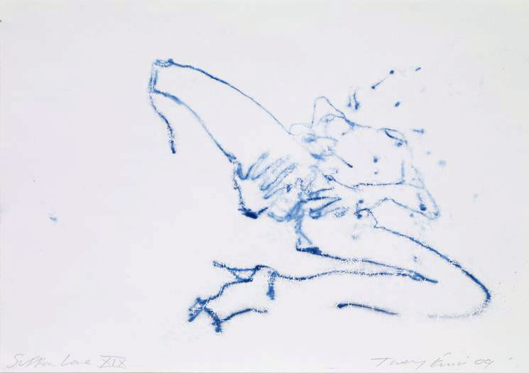Tracey EMIN (b. 1963) Monoprint on paper 21 x 29.6 cm (8 1/4 x 11 5/8 in.)