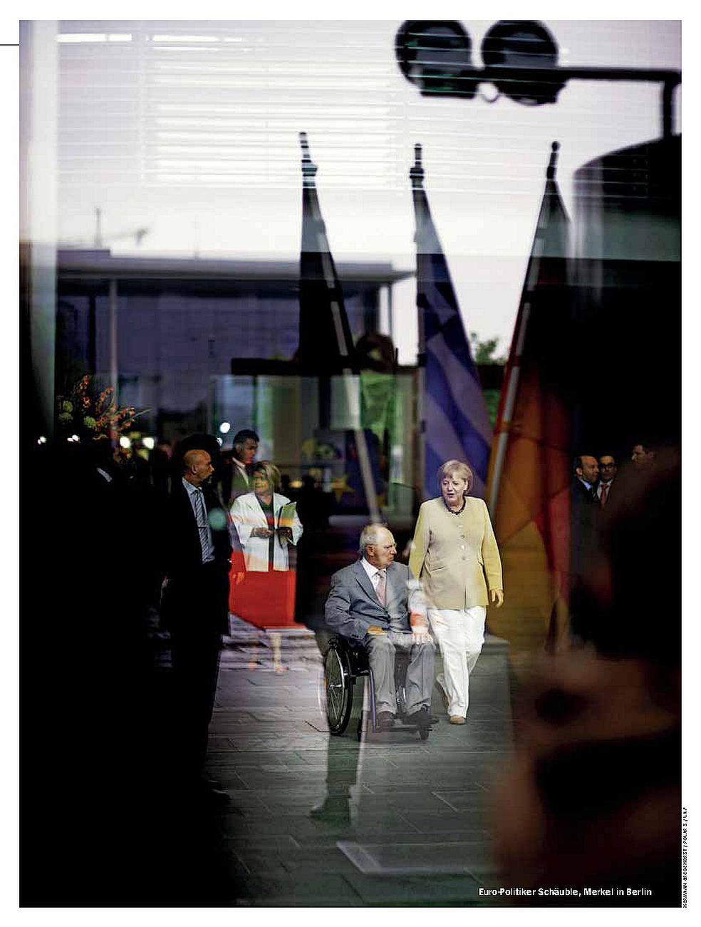 SPIEGEL, Germany, 26.08.2013, German Chancellor Angela Merkel and German Minister of Finance Wolfgang Schaeuble
