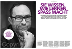EVONIK Magazine, Jimmy Wales, Wikipedia Founder