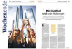 Handelsblatt, Germany, Weekend Edition, Occupy Protest Frankfurt