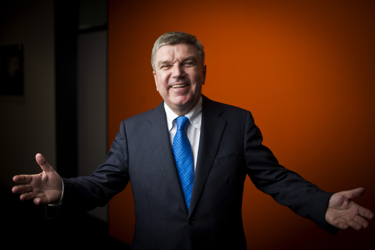 Thomas Bach, German former fencer and President of the International Olympic Committee