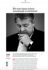 Germanys Vice Chancellor Sigmar Gabriel in VN - Vrij Nederland magazine