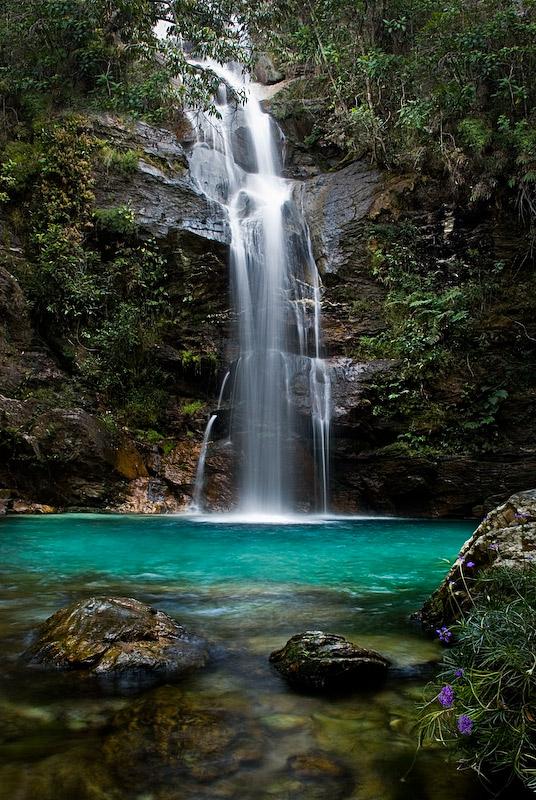 Cachoeira Santa Barbara - Cavalcante - GO
