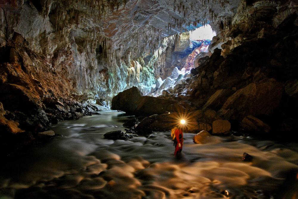 Resultado de imagem para gruta parque do ronca
