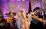 bridal-party-toasting