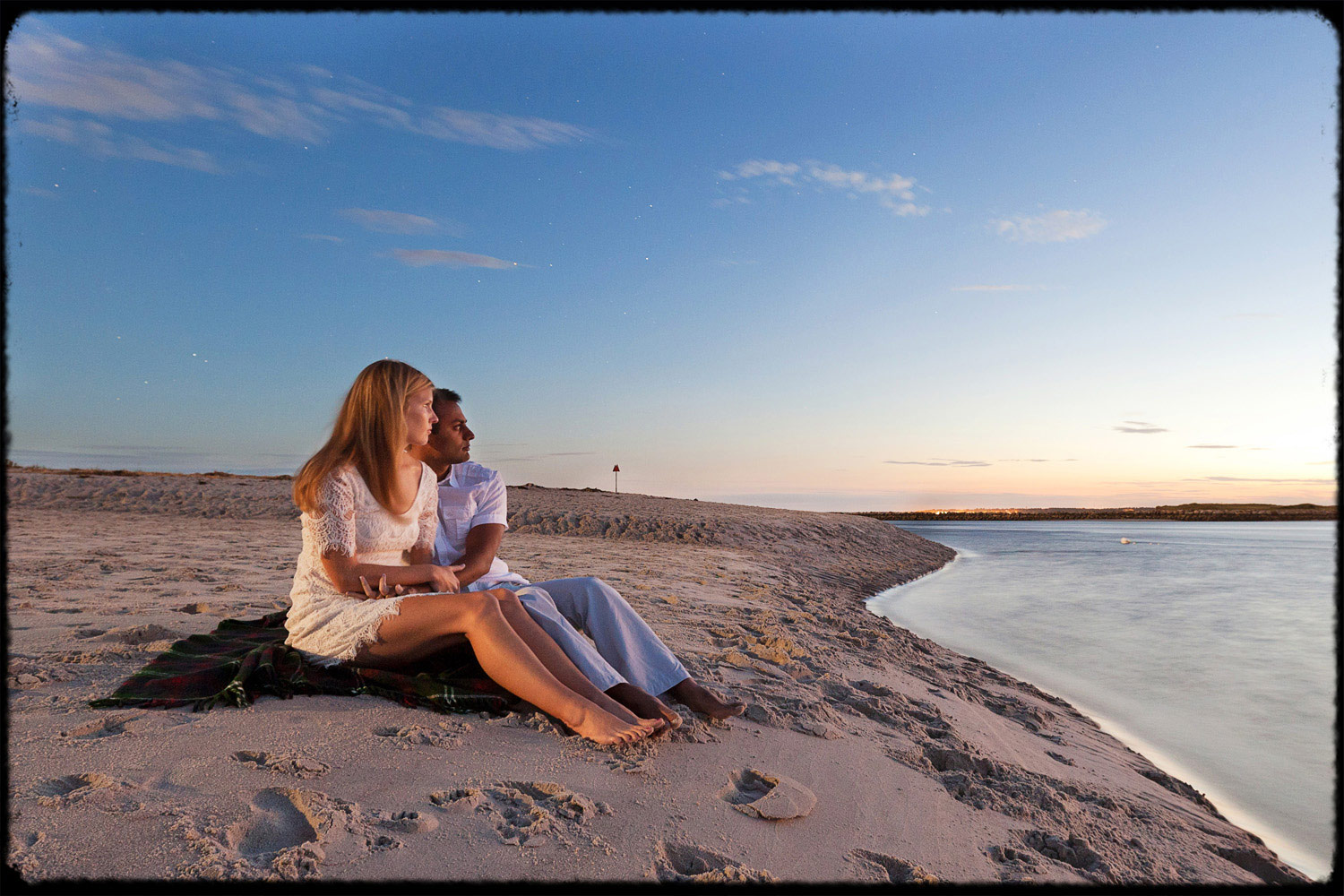 night_popham_beach_engagement_session_still