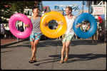 provincetown_gay_engagement_session_inner_tube_maine_street