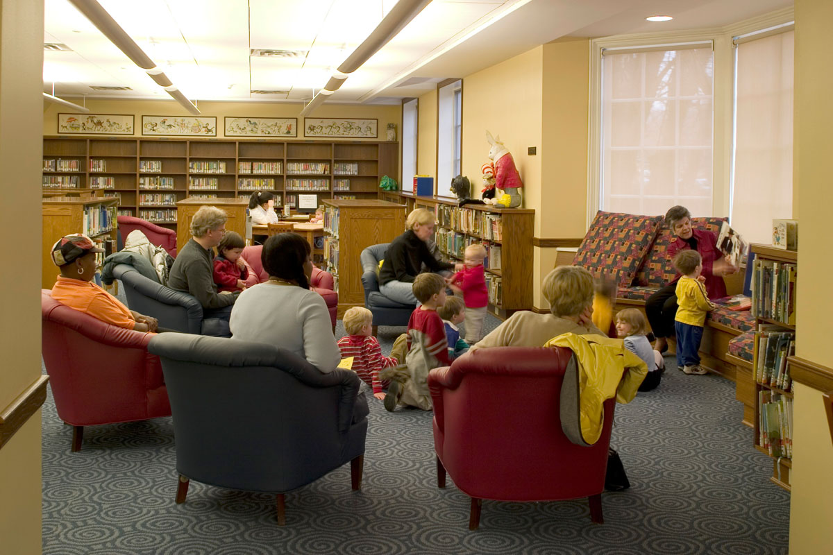 Reading Room Pembroke Public Library