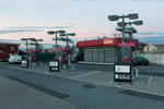 A Getty Gas station in Ozone Park, Queens is closed due to gas shortage in the wake of Hurricane Sandy. November 4, 2012.