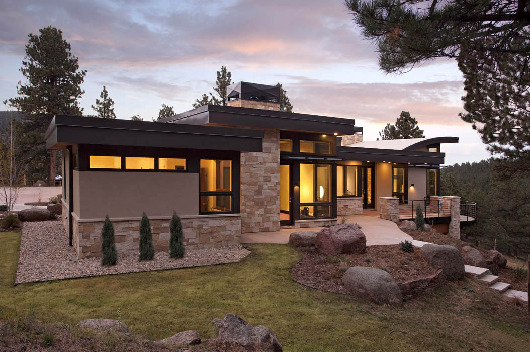 Landscape Integration Contemporary Homes Mosaic