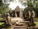 Angkor Thom is one of many temples located near Angkor Wat - Siem Reap, Cambodia