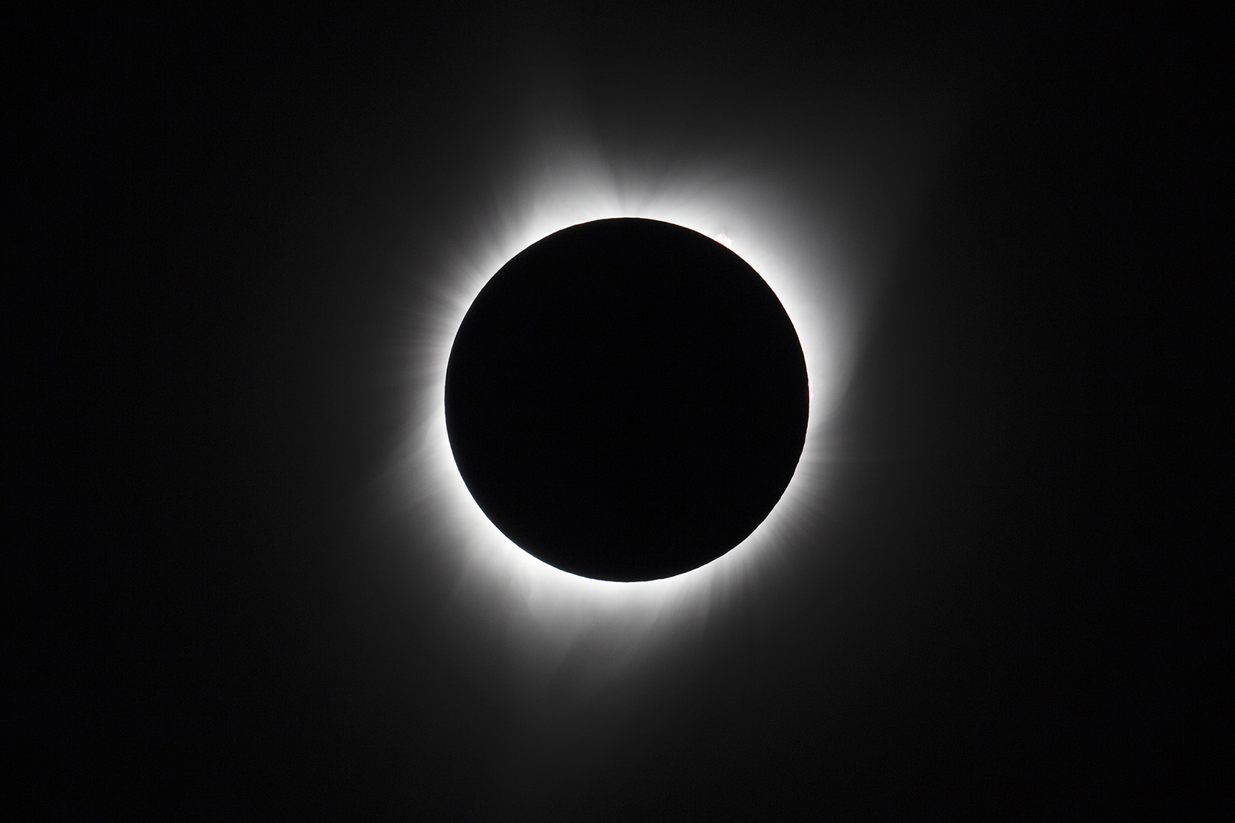 On Monday, August 21, 2017, a total solar eclipse, frequently referred to as the {quote}Great American Eclipse{quote}, was visible within a band across the entire contiguous United States passing from the Pacific to the Atlantic coasts.
