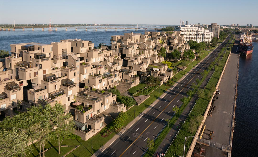 Habitat 67 aerial photography jesse kaplan photography for Habitat 67 architecture