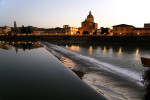 The banks of the River Arno - Florence, Italy