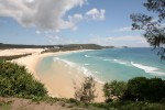 Fraser Island is the largest sand island in the world and is more than 120km long and 22km across at its widest point.