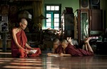 These young monks were learning from their master when I photographed them. They spend most of their day studying and doing daily chores around their monastery.Chauk Htet Kyi Monastery - Yangon, Burma