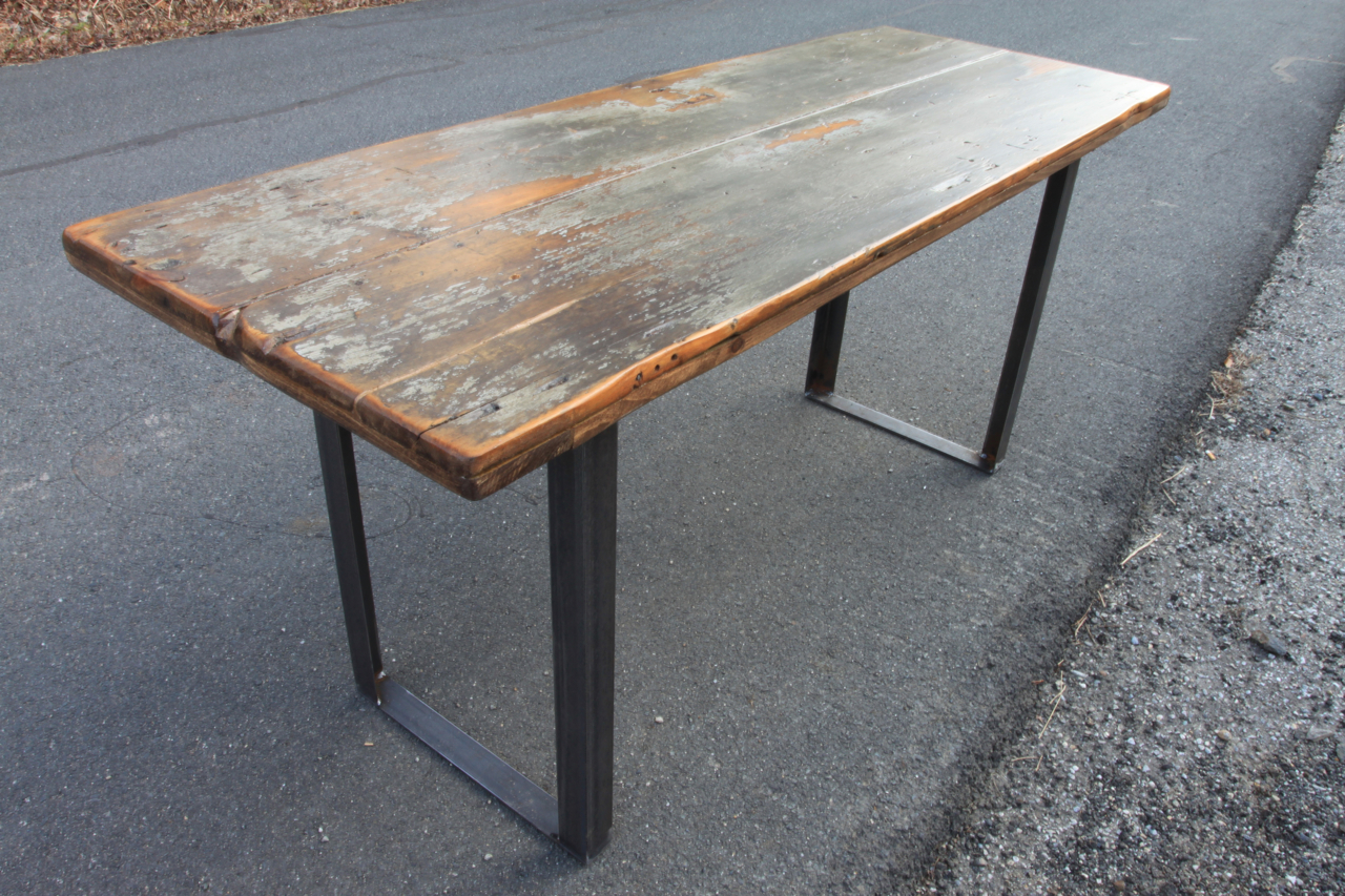 Barndoor5 BARN DOOR TABLES Industrial Reclaimed