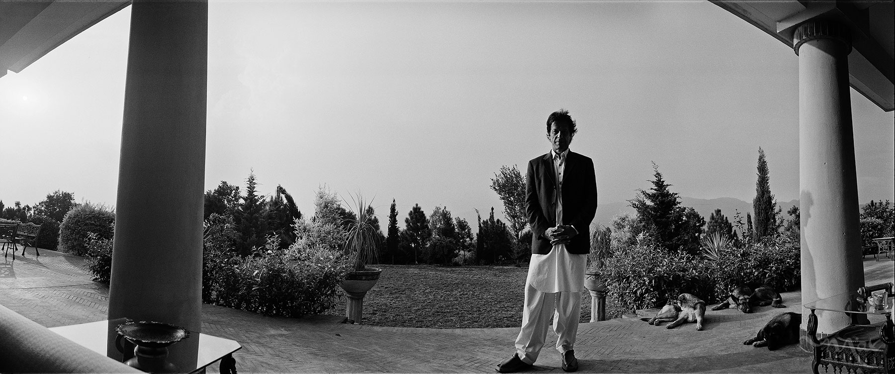 Imran Khan, chairman of Pakistan Tehreek-e-Insaf, poses for a photograph at his home in Islamabad, Pakistan, on Monday, November 05, 2012. Khan, the former Pakistani cricket captain and now the country's rising political star, is gaining support by criticizing the U.S. drone attacks in Pakistan and promoting conservative values.